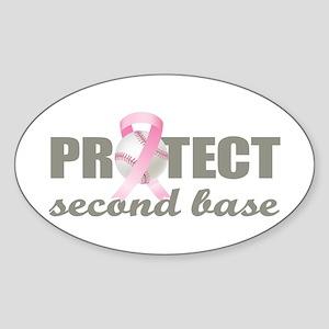 Second Base Sticker (Oval)