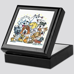 Thank You Dogs & Cats Keepsake Box