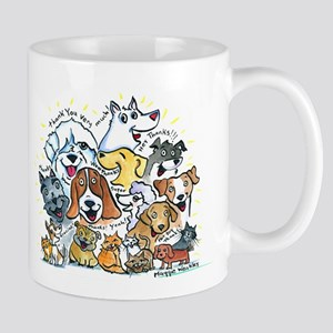 Thank You Dogs & Cats Mug