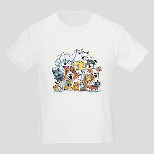 Thank You Dogs & Cats Kids Light T-Shirt