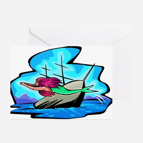 The Little Mermaid Greeting Cards (Pk of 10)