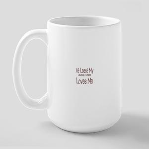 At Least My Caucasian Ovchark Large Mug