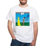 Umbrella in a Thunderstorm Men's Classic T-Shirts