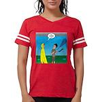 Umbrella in a Thunderstorm Womens Football Shirt
