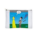 Umbrella in a Thunderstorm Makeup Bag