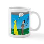 Umbrella in a Thunderstorm 11 oz Ceramic Mug