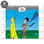Umbrella in a Thunderstorm Puzzle