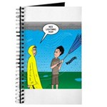 Umbrella in a Thunderstorm Journal