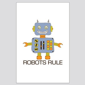 Robots Rule Large Poster