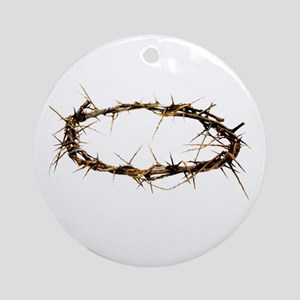 Crown of Thorns Ornament (Round)
