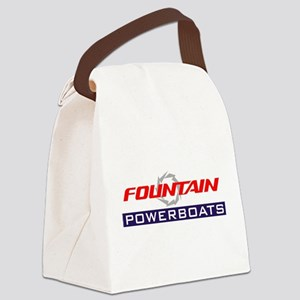 Fountain powerboats Canvas Lunch Bag