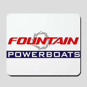 Fountain powerboats Mousepad