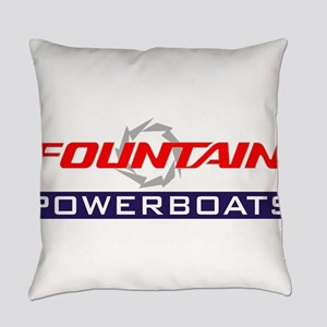 Fountain powerboats Everyday Pillow