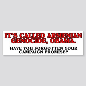 It's called Armenian genocide Sticker (Bumper)