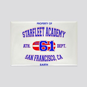 Starfleet Athletic Department Rectangle Magnet
