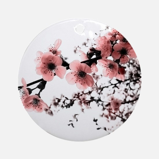 Cherry Blossoms Ornament (Round)