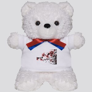 Cherry Blossoms Teddy Bear