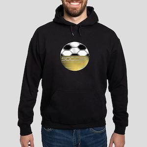 Golden Soccer Hoodie (dark)