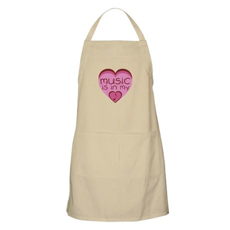 Music is in My Heart Apron