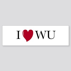 I heart Wu - bumper sticker