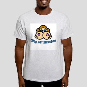 Tig Ol' Bitties Ash Grey T-Shirt