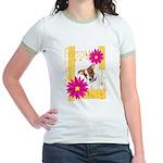 Happy Mother's Day Jr. Ringer T-Shirt