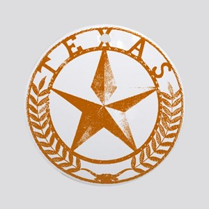 Texas Star Ornament (Round)