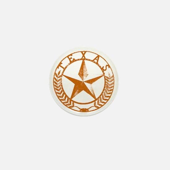 Texas Star Mini Button