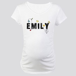 Floral Emily Maternity T-Shirt