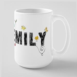 Floral Emily Large Mug