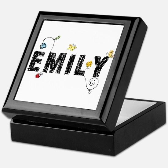 Floral Emily Keepsake Box