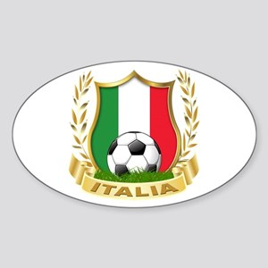 2010 World Cup Italia Oval Sticker