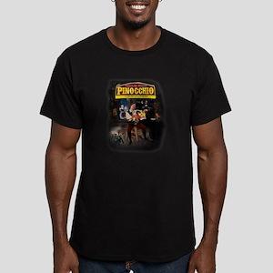 Pinnochio Men's Fitted T-Shirt (dark)