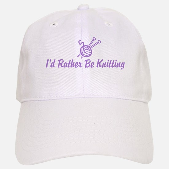 Funny knitting Baseball Baseball Cap