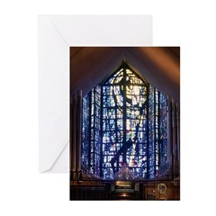 Dalle de Verre Greeting Cards (Pk of 10)