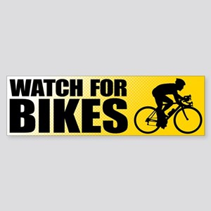 Watch for Bikes Bumper Sticker