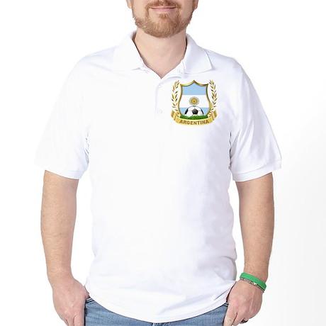 Argentina world cup soccer Golf Shirt