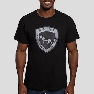 Hudson County K9 Men's Fitted T-Shirt (dark)