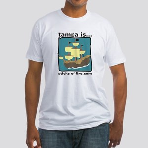 Tampa is...  Adventure Fitted T-Shirt