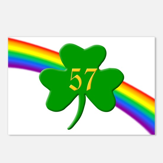 57th Shamrock Postcards (Package of 8)