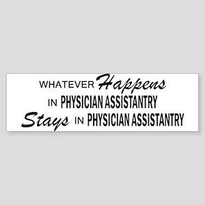 Whatever Happens - Physician Asst Sticker (Bumper)