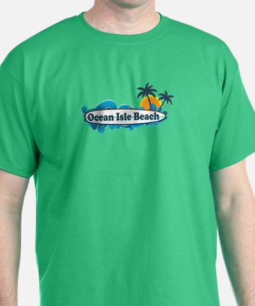 Ocean Isle Beach NC - Surf Design T-Shirt