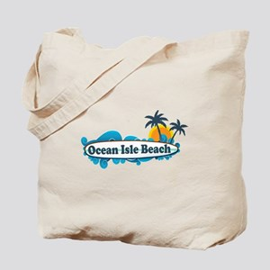 Ocean Isle Beach NC - Surf Design Tote Bag