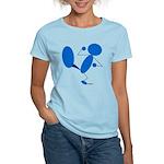 Karate Kick Blueman Women's Light T-Shirt