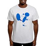 Karate Kick Blueman Light T-Shirt