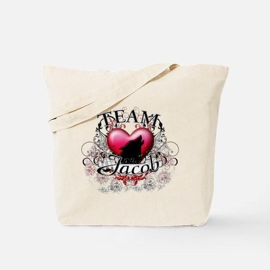 Team Jacob Tribal Tote Bag