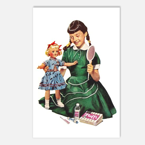 'Pretty' Postcards (Pkg of 8)