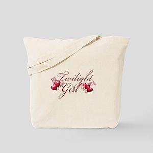 Twilight Girl Tote Bag