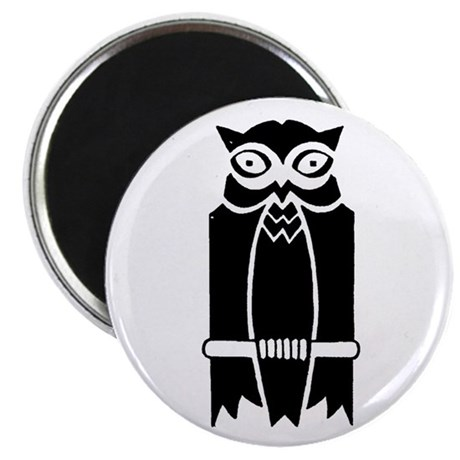 """Owl Silhouette 2.25"""" Magnet (100 pack)"""