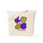 Square F.S. LOVE Tote Bag
